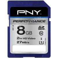 PNY SD 8GB 30MB/s PERFOMANCE SDHC/XC Performance 8GB