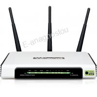 TL-WR941ND Ασύρματο router 300Mbps & Switch 4 θυρών