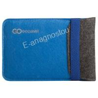 GO CLEVER  MID BAG ECOSLEEVE 10 BLUE