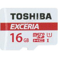 TOS MICROSD 16GB M302 UHS I U1 WITH ADAPTER