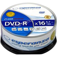 ESP DVD-R 4,7GB X16 - CAKE BOX 25 PCS