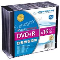 ESP DVD+R 4,7GB X16 - SLIM CASE 10 PCS