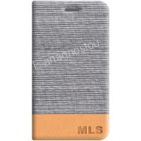 MLS FLIP CASE SILVER FOR IQTALK VERSE 4G